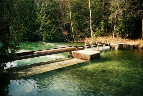 Clark Lake Dam - Normal Spring Conditions